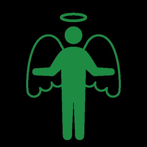 天使ピクトグラム